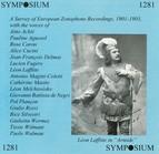 A Survey of European Zonophone Recordings (1901-1903)