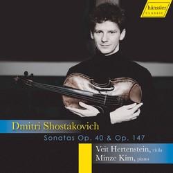 Shostakovich: Cello Sonata in D Minor, Op. 40 & Viola Sonata, Op. 147