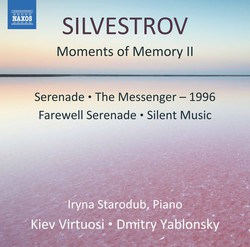 Valentin Silvestrov: Moments of Memory II