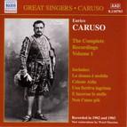 Caruso, Enrico: Complete Recordings, Vol.  1 (1902-1903)