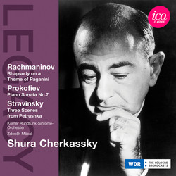 Rachmaninov: Rhapsody on a Theme of Paganini - Prokofiev: Piano Sonata No. 7 - Stravinsky: Petrushka