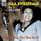 Fitzgerald, Ella: It's the Way That You Do It (1936-1939)