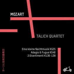 Mozart: Eine Kleine Nachtmusik K525, Adagio & Fugue K546, 3 Divertimenti K136-138