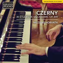 Czerny: 30 Études de mécanisme, Op. 849