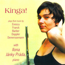 Kinga! Plays Flute Music