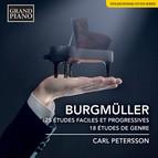 Burgmüller: 25 Études faciles et progressives, Op. 100 & 18  Études, Op. 109