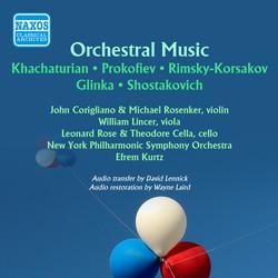 Prokofiev - Shostakovich - Rimsky-Korsakov - Tchaikovsky -  Glinka: Russian Music (Recorded 1946, 1947)