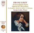 Liszt: Transcriptions from Operas by Meyerbeer