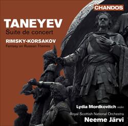 Taneyev, S.I.: Suite De Concert / Rimsky-Korsakov, N.A.: Fantasia On 2 Russian Themes