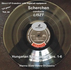 LP Pure, Vol. 20: Scherchen Conducts Liszt