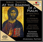 Taneyev: At the Reading of A Psalm, Op. 36,