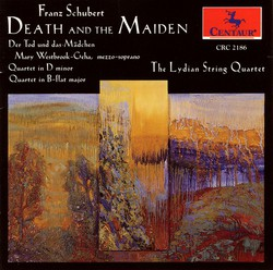 Schubert, F.: String Quartets Nos. 8 and 14 / Der Tod Und Das Madchen