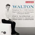 Walton: Improvisations on an Impromptu of Benjamin Britten, Cello Concerto & Symphony No. 2