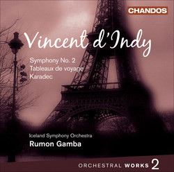d´Indy: Orchestral Works, Vol. 2