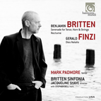 Britten: Serenade for tenor, horn & strings - Nocturne. Finzi: Dies Natalis