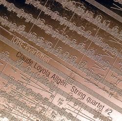 Allgén: String Quartet No. 2