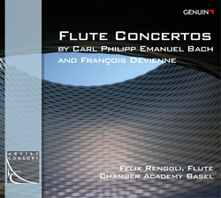 C.P.E. Bach & Devienne: Flute Concertos