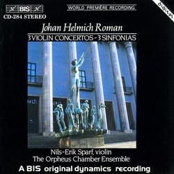 Roman - 3 Violin Concertos