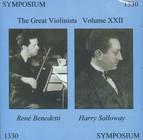 The Great Violinists, Vol. XXII