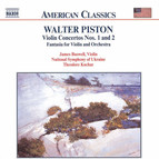 Piston: Violin Concertos Nos. 1 and 2 / Fantasia for Violin