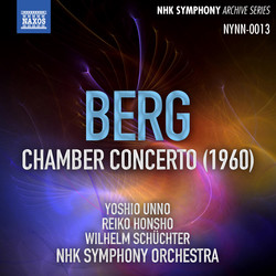 Berg: Chamber Concerto (Live)