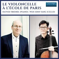 Le violoncelle à l'école de Paris