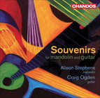 Mandolin and Guitar Recital: Stephens, Alison / Ogden, Craig - Vieco Ortiz, C. / Pino, P.M. / Nieto S., L.E. / Hadjidakis, M. (Souvenirs)