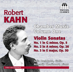 Kahn: Chamber Music, Vol.1