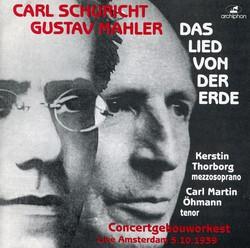 Mahler: Das Lied von der Erde (Song of the Earth) (1939)