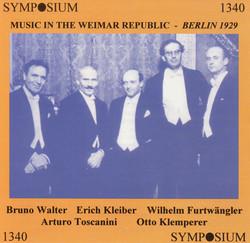 Music in the Weimar Republic - Berlin 1929