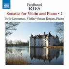 Ries: Sonatas for Violin & Piano, Vol. 2