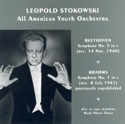 Beethoven: Symphony No. 5 / Brahms: Symphony No. 1 (Stokowski) (1940, 1941)