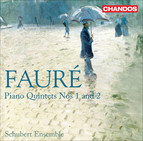 Fauré, G.: Quintets for Piano and Strings