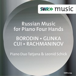 Russian Music for Piano 4 Hands