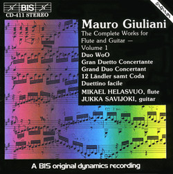 Mauro Giuliani - The Complete Works for Flute and Guitar - Volume 1