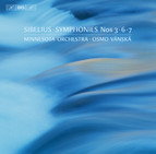 Sibelius - Symphonies 3, 6 and 7