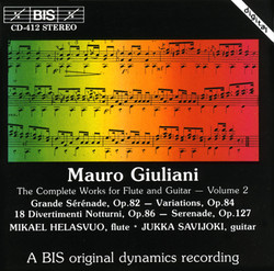Mauro Giuliani - The Complete Works for Flute and Guitar - Volume 2