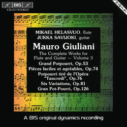 Mauro Giuliani - Complete Works for Flute and Guitar - Volume 3