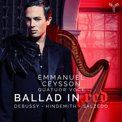 Debussy, Hindmith & Salzedo: Ballad in Red