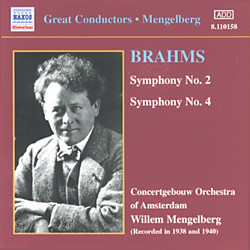 Brahms: Symphonies Nos. 2 and 4 (Mengelberg) (1941)