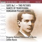 Bartok, B.: Suite No. 1 / 2 Pictures / Transylvanian Dances / Hungarian Peasant Songs