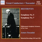 Beethoven Symphonies Nos. 5 and 7 (Toscanini) (1933, 1936)
