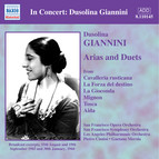 Giannini, Dusolina: Arias and Duets (1943-1944)