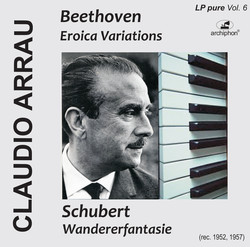 Arrau plays Beethoven and Schubert (LP-Pure Vol. 6)