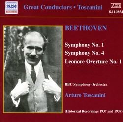 Beethoven: Symphonies 1 and 4