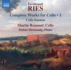 Ries: Cello Sonatas, Opp. 20, 21 & 125