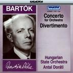 Bartók: Concerto for Orchestra, Divertimento