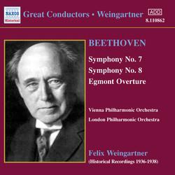 Beethoven: Symphonies Nos. 7 and 8 (Weingartner) (1936)