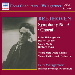 Beethoven: Symphony No. 9 (Weingartner) (1935)