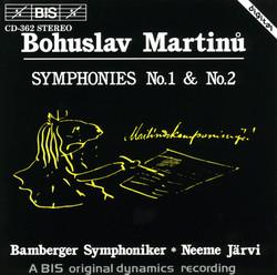 Martinu - Symphonies No.1 & No.2
